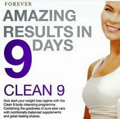 C9 The Clean 9 program can help you to jumpstart your journey to a slimmer, healthier you. This effective, easy-to-follow cleansing program will give you the tools you need to start transforming your body today!