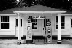 Route 66 - Soulsby Station Pumps Photograph