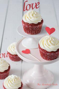 Cupcakes Red Velvet {Receta definitiva}