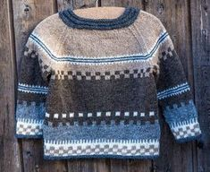 Knitting Patterns Funny Brown and gray colors