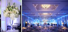 Winter Wonderland Wedding Reception
