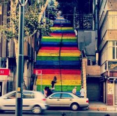 Turks Paint Public Walkways in Protest Arch Daily