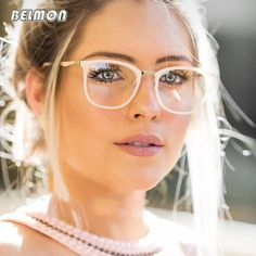 04bb580d37 Hot Offer Spectacle Frame Women Eyeglasses Computer Prescription Myopia  Optical For Female Eyewear Clear Lens Acetate Glasses Frame