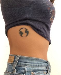 What does earth tattoo mean? We have earth tattoo ideas, designs, symbolism and we explain the meaning behind the tattoo. Mini Tattoos, Wörter Tattoos, Word Tattoos, Body Art Tattoos, Small Tattoos, Sleeve Tattoos, Drawing Tattoos, Tatoos, Piercings