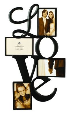 Burnes Home Accents 4 Opening Venetian Copper Love Frame from Target. Family Wall Collage, Frame Wall Collage, Love Collage, Frame Display, Frames On Wall, Display Boxes, Display Ideas, Display Photos, Collage Photo