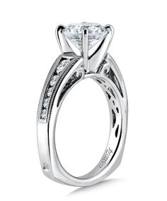 Great #diamond #engagement #ring available at www.distinctivegold.com #bridal #wedding