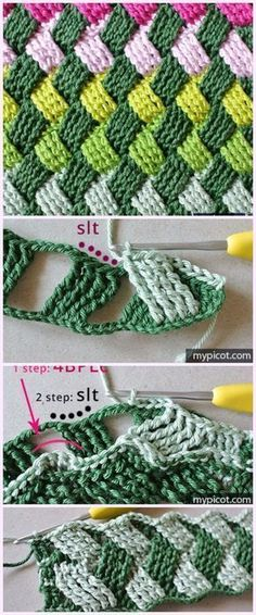 Use Coconut Oil Daily - - Crochet Basket Weave Stitch Free Crochet Pattern 9 Reasons to Use Coconut Oil Daily Coconut Oil Will Set You Free — and Improve Your Health!Coconut Oil Fuels Your Metabolism! Crochet Diy, Crochet Motifs, Crochet Stitches Patterns, Crochet Crafts, Crochet Projects, Stitch Patterns, Knitting Patterns, Crochet Ideas, Crochet Pillow