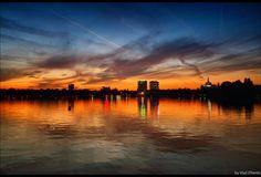 Herastrau Park after #sunset