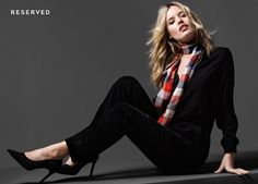 Georgia May Jagger in Reserved clothing 2015 Fall campaign Photoshoot