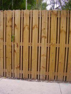 Dog Ear Fence Panels Board On Board Simple Estate Fence