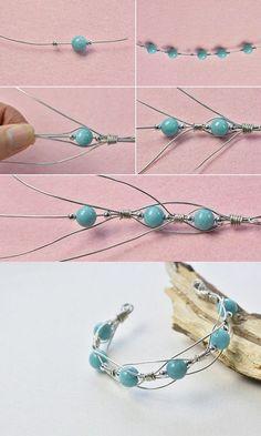 125 wiring wrapping diy jewelry - YS Edu Sky