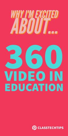 I love the concept of 360 video in education! Join me on my content consumption and creation journey as I explore virtual reality. virtual reality in education, augmented reality in education, virtual reality in the classroom, educational vr apps