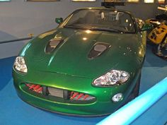 bond cars and vehicles | The Jaguar XKR Roadster from the 2002 film Die Another Day