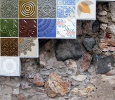 Azulejo e pedra
