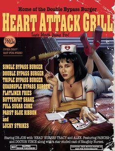 9,982 Calorie Quadruple Bypass Burger Kills Heart Attack Grill Spokesman - CovalentNews.com