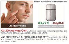 Devuelving Tienda Online y Comercio por Internet: SHISEIDO MEN ADENOGEN HAIR ENERGIZING 300ml. Lo en...