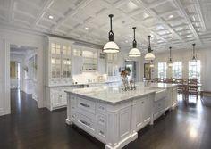 Southampton Mansion kitchen ceiling