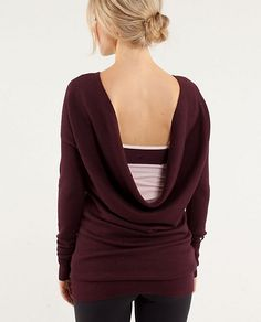 lululemon serenity sweater - I think I may have just found something I want for my birthday.