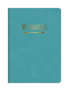 Studio Oh! Leatheresque Journal, Nearly Teal