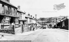 Beddau, Parish  Road c.1955, from Francis Frith