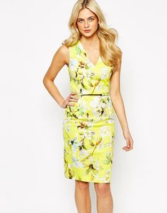 Image result for printed cotton shift dress