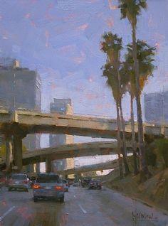 Heading South on the 110 by Jennifer McChristian