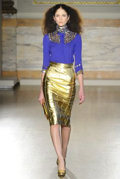 L'Wren Scott RTW Fall 2013 - Slideshow - Runway, Fashion Week, Reviews and Slideshows - WWD.com
