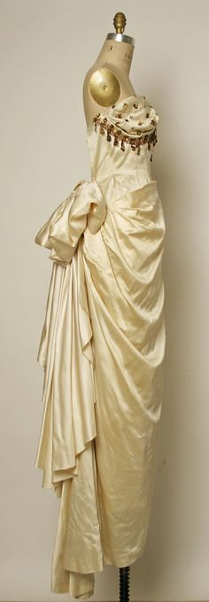 Evening dress. Jacques Fath (French, 1912–1954). Design House: House of Jacques Fath (French, founded 1937) Date: 1948