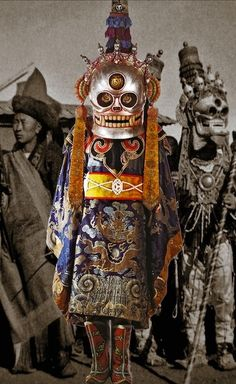 Dance costumes, masks, etc. | Ton Lankreijer