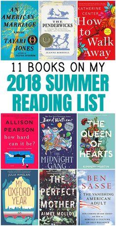 11 Books on My 2018 Summer Reading List https://everyday-reading.com/2018-summer-reading-list/