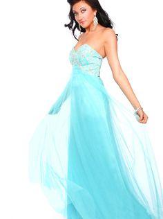 0e8f948b4ff2 A-line Blue Chiffon Formal Dress Evening Dress/Prom Dress 2015 precious  formals P21041