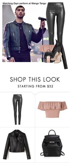 """""""Watching Zayn perform at Wango Tango"""" by almog-fashion ❤ liked on Polyvore featuring Lanvin, Joseph, Miss Selfridge, Alexander Wang and Casadei"""