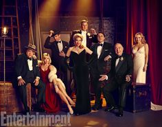 First look at Zach Braff (and company) in Woody Allen's 'Bullets Over Broadway' musical — EXCLUSIVE | EW.com #Broadway #Musicals