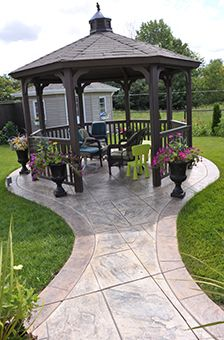 Backyard Gazebo Ideas source Would Love This Gazebo In My Back Yard