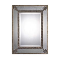 Have to have it. Michelina Oversized Leaf Accent Wall Mirror - 30W x 40H in. - $323.4 @hayneedle.com