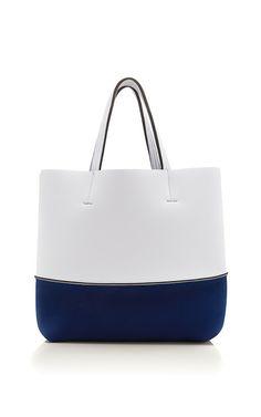 Leghilà Bi-color neoprene Beach Bag - Yellow & Beige #bag ...