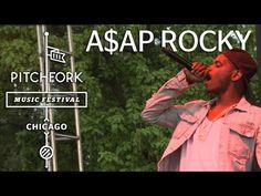 """A$AP Rocky - """"Pretty Flacko"""" - Pitchfork Music Festival 2012"""