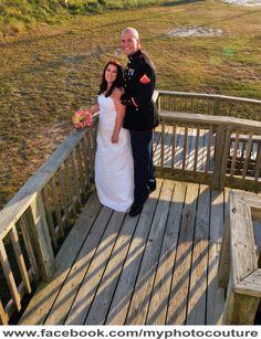 #wedding #couple #military #marinecorps #bride #groom #beach #photography #myphotocouture