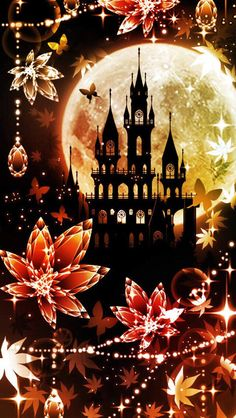 Cheapest Cell Phones And Plans Galaxy Wallpaper, Cellphone Wallpaper, Wallpaper Backgrounds, Fantasy Kunst, Fantasy Art, Art Kawaii, Halloween Wallpaper, Beautiful Moon, Anime Scenery