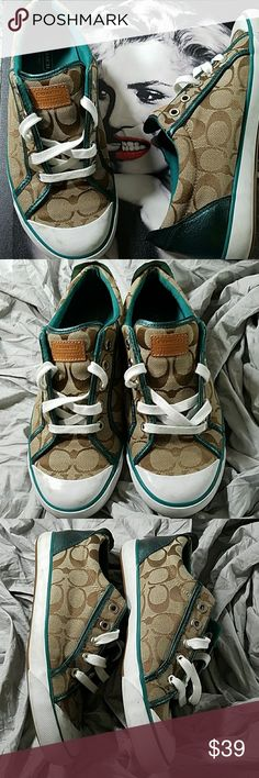 Coach Sneakers Good condition  Only worn a few times Sz 9B Coach Shoes Athletic Shoes