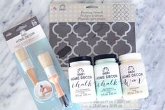 Looking to paint your next upcycle project? Try Home Decor Chalk Finish Paint from Jo-Ann Fabric and Craft Stores