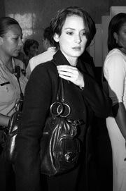 On December 14thin 2001, Winona Ryder was charged with shoplifting, after security staff at Saks 5th Avenue in Beverly Hills spotted her stealing 17 items from the store, thought to be worth up to $5,500. Subscribe to daily Fashion History facts on on our blog! #fashion #winonaryder #tifh