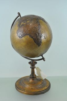 Terrestrial Globe showing map of the earth c.1950