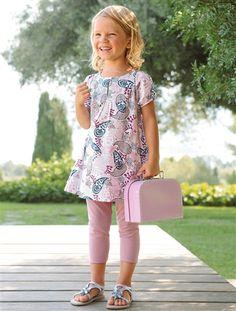 Baby & Toddler Clothing Amicable Rare Editions Girls 24 Months Toddler Dress & Legging Set Owl Ruffles Eyelet