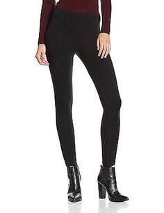 W34/L32 (Manufacturer Size:16), Black, New Look Women's Ponti Leggings