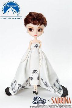 "Pullip doll ""Sabrina"", Audrey Hepburn"