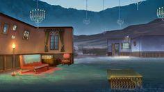 Art from Santiago Montiel, Concept artist, Background art director and illustrator. Environment Concept Art, Art Director, Mansions, House Styles, Home Decor, Santiago, Decoration Home, Manor Houses, Room Decor
