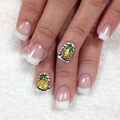 Because.... Pineapples  by professionalnailss