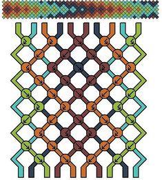 Photos de Творческий домик Sanora & netskatecat String Bracelet Patterns, Diy Friendship Bracelets Patterns, Embroidery Bracelets, Handmade Bracelets, Beaded Bracelets, Alpha Patterns, Cool Patterns, Summer Bracelets, Crafty Projects