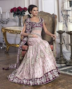 beautifulsouthasianbrides: Outfit by:SAI Fashions Indian Wedding Outfits, Bridal Outfits, Indian Outfits, Wedding Dress, Party Outfits, Dream Wedding, India Fashion, Ethnic Fashion, Asian Fashion